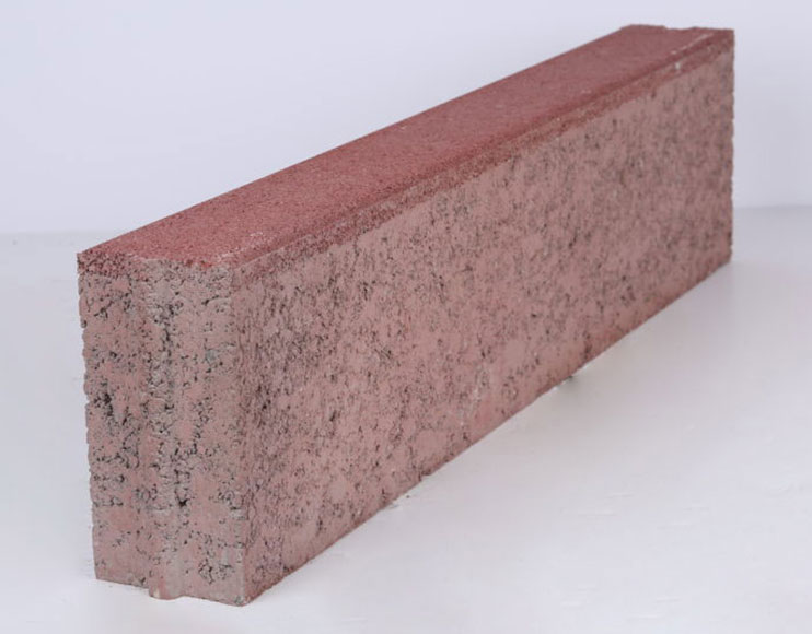 Heel kerb paving interlock concrete block