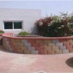 concrete blocks for wall construction