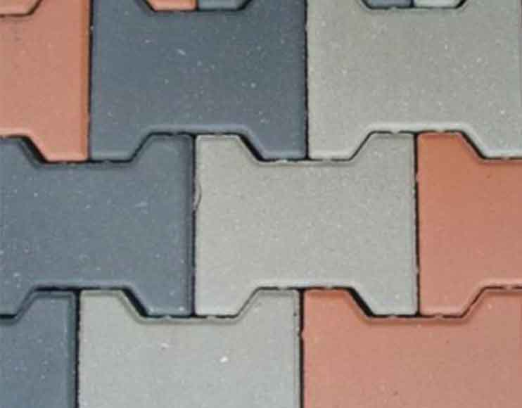 Behaton paving interlock tiles